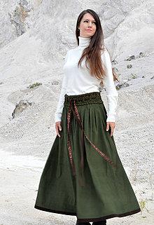 Sukne - Sukňa Miss Green - 8509215_