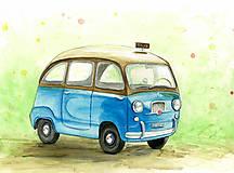 Iné - Oldfashion car, Ford - 8506945_