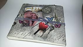 Papiernictvo - Krehkosť bytia, sila lásky - fotoalbum na želanie - 8509500_
