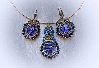 Sady šperkov - Korálkový šujtášový set - 8507044_