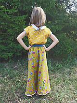 """Detské oblečenie - menčestrová sukňa dlhá """"Jesenná"""" - 8506955_"""