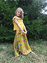 """Detské oblečenie - menčestrová sukňa dlhá """"Jesenná"""" - 8506993_"""