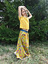 """Detské oblečenie - menčestrová sukňa dlhá """"Jesenná"""" - 8506994_"""