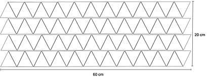 Dekorácie - Nálepky na stenu - Trojuholníky 5 x 5 cm - 88 ks (Azúrovo modrá) - 8507572_