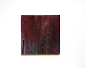 Suroviny - Sklo bordovo fialové, Bullseye - 8510031_