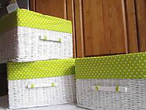 Košíky - Košíky- Bodkované jabĺčka II - 8510247_