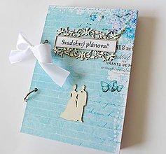 Papiernictvo - svadobný plánovač - 8509645_