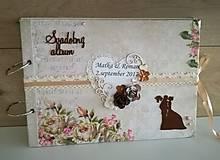 Papiernictvo - kvetinkový_ svadobný album - 8512010_