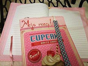 "Papiernictvo - Obal ""Moje receptíky"" - 8510852_"
