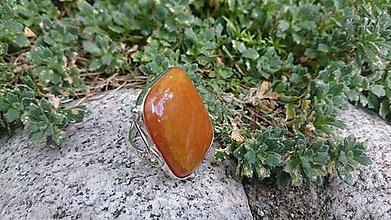 Prstene - achátový prsteň - 8511213_