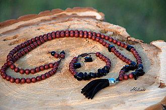 Sady šperkov - Sada Natur Onyx - 8511726_