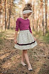 Detské oblečenie - Prairie de Fleurs pour Filles - 8509987_