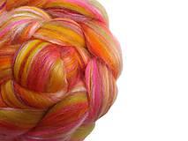 Textil - Zmes merino/ hodváb tussah - Váhy - 8510955_