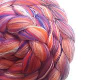 Textil - Zmes merino/ hodváb tussah - Povesť 60g - 8511530_