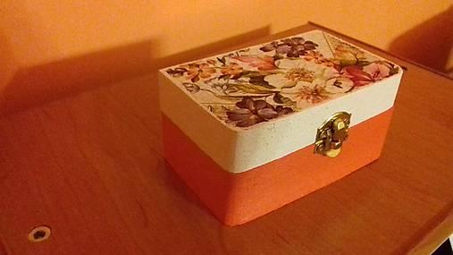 Krabička mini   Cilekova - SAShE.sk - Handmade Krabičky 1ae33785c4