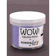 Pomôcky/Nástroje - Wow! Fabulous Flock Fialový zamatový prášok (45 ml) - 8509954_