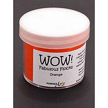 Pomôcky/Nástroje - Wow! Fabulous Flock Oranžový zamatový prášok (45 ml) - 8509956_