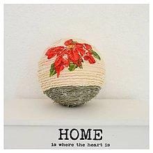 Dekorácie - Vianočná guľa - 8510143_