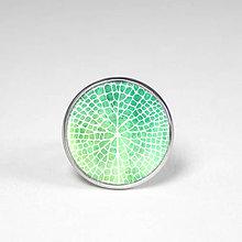Prstene - Lotus list prsteň - vlastný obrázok - 8509619_