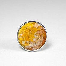 Prstene - Slnko - tmavo žltý prsteň - 8509631_