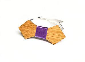 Doplnky - Drevený motýlik XXVII. - 8511267_
