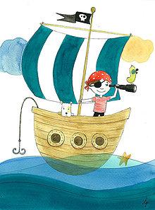 Obrázky - Pirát I, obrázok do izby - 8510288_