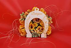 Darčeky pre svadobčanov - Svadobná podkovička pre šťastie 4 - 8510332_