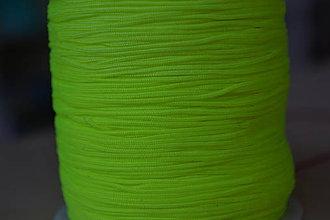 Galantéria - Šnúrka nylon neonžltá 0.8mm, 0.09€/meter - 8510631_