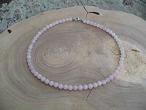 Náhrdelníky - náhrdelník z Ruženínu - 8511749_