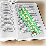 Papiernictvo - Záložka do knihy s menom a fotkou 15 (čistá) - 8511186_
