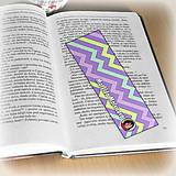 Papiernictvo - Záložka do knihy s menom a fotkou 16 (čistá) - 8511188_