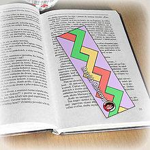 Papiernictvo - Záložka do knihy s menom a fotkou 12 (čistá) - 8511163_