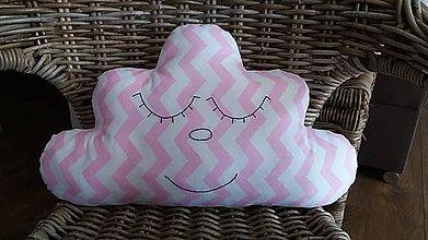Úžitkový textil - Vankúšik obláčik - 8513228_
