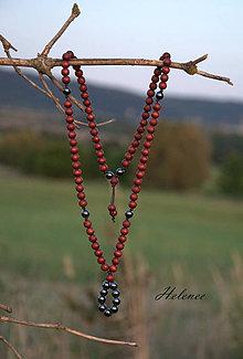 Sady šperkov - Sada Natur Hematit - 8513757_