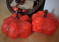 Dekorácie - jesenné tekvičky - 8512643_