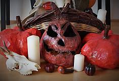 Dekorácie - halloweenska tekvica - 8512662_