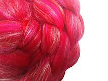 Textil - Zmes merino/ hodváb tussah - Dáma - 8514164_