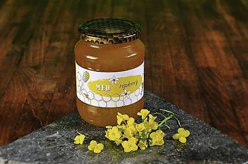 Jarný med kvetovo-repkový