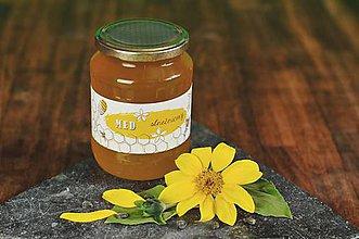 Potraviny - Slnečnicový  med (slnečnicovo-facéliový) - 8512364_