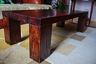 Nábytok - Konferenčný masívny stôl Borovica - 8513745_