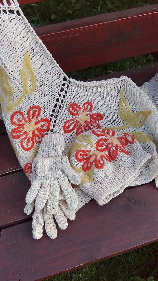 36cd3d6c2 Parádna vlnená súprava / oveckovo - SAShE.sk - Handmade Šály
