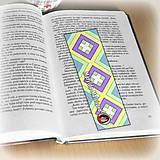 Papiernictvo - Záložka do knihy s menom a fotkou 17 (čistá) - 8512167_