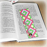 Papiernictvo - Záložka do knihy s menom a fotkou 18 (čistá) - 8512168_