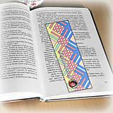 Papiernictvo - Záložka do knihy s menom a fotkou 21 (čistá) - 8512173_
