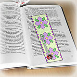 Papiernictvo - Záložka do knihy s menom a fotkou 22 (čistá) - 8512726_