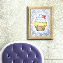Grafika - Zamilovaný koláčik elegant - 8513062_