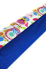 Úžitkový textil - _HAJA & FaReBNé SoVKy z Francúzska a MiNiBodka... 170 cm - 8517079_