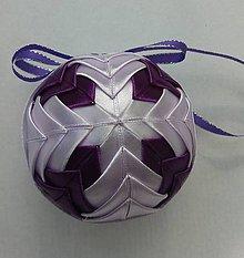 Dekorácie - Vianočná guľa - 7,5 cm - 8514237_