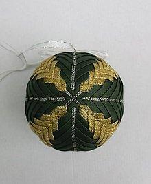 Dekorácie - Vianočná guľa - 10 cm - 8514453_