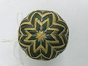 Dekorácie - Vianočná guľa - 10 cm - 8514459_